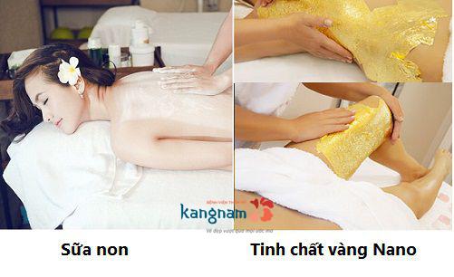 liệu trình tắm trắng, liệu trình tắm trắng toàn thân, quy trình tắm trắng