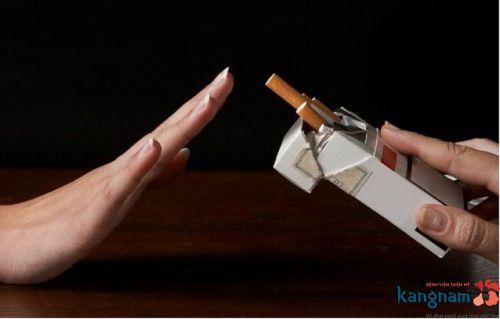 Nói KHÔNG với hút thuốc sau xóa xăm