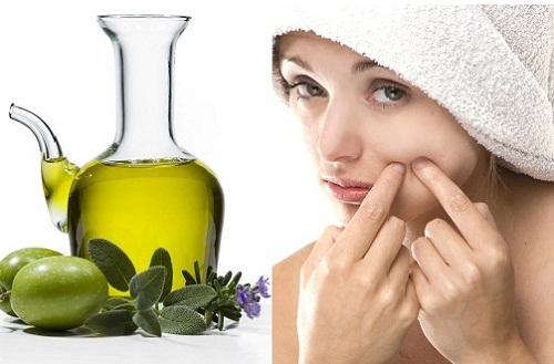 Cách làm trắng da mặt sau sinh bằng dầu oliu