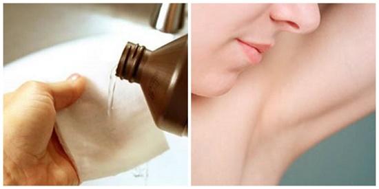 Cách tẩy lông nách bằng oxy già
