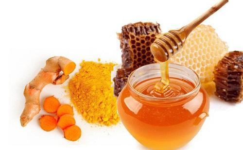 cách tẩy lông nách bằng bột nghệ và mật ong