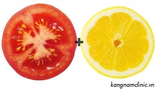 cách tẩy lông mặt bằng cà chua