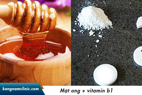 tắm trắng bằng b1 và vitamin e