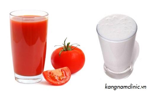 tẩy lông mặt vĩnh viễn bằng cà chua