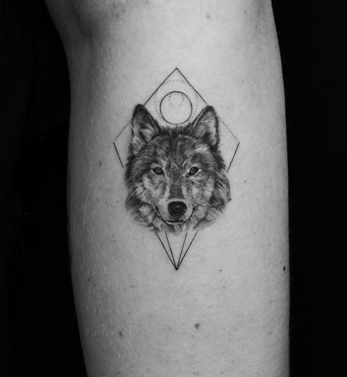 hình xăm ma sói