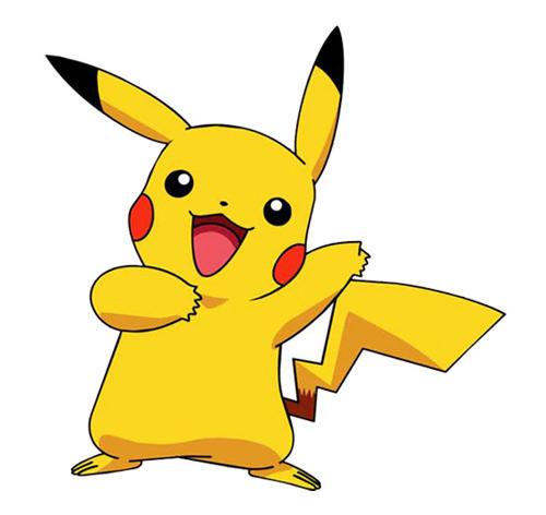 hình xăm pikachu đáng yêu