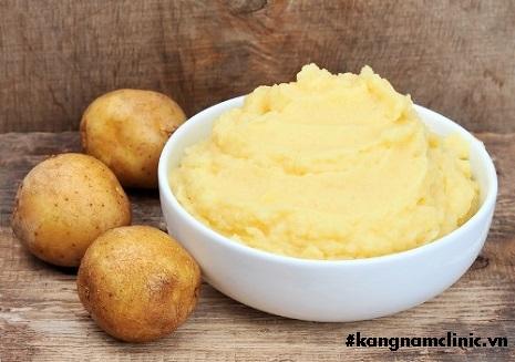 mặt nạ khoai tây để được bao nhiêu ngày