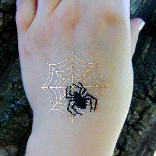 ý nghĩa hình xăm mạng nhện