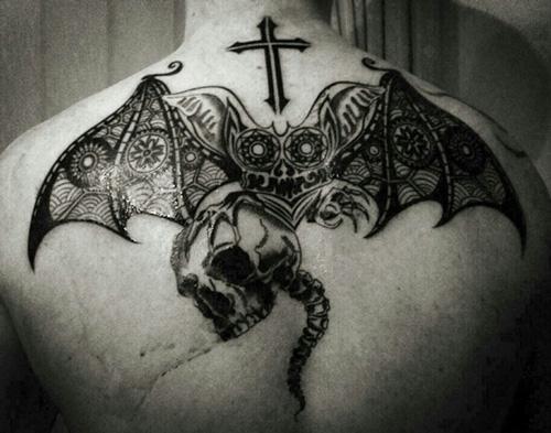 tattoo con dơi