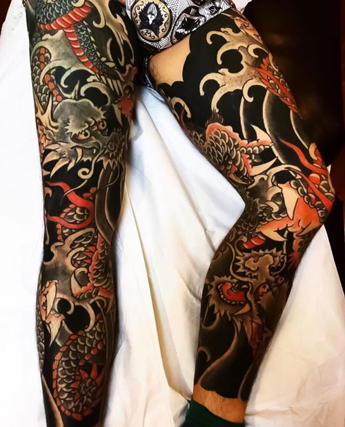 hình xăm của yakuza nhật bản