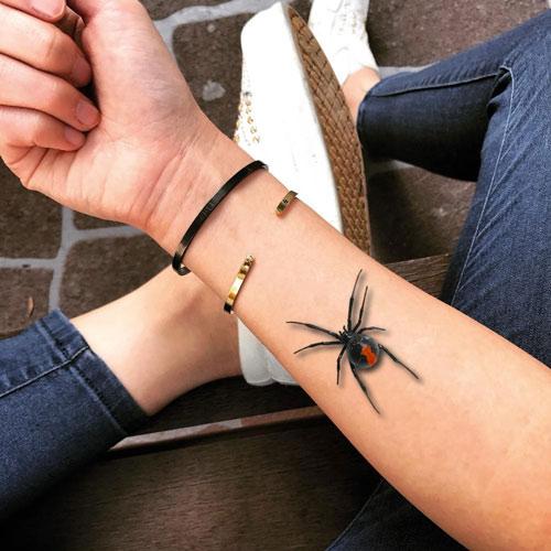 ý nghĩa hình xăm nhện