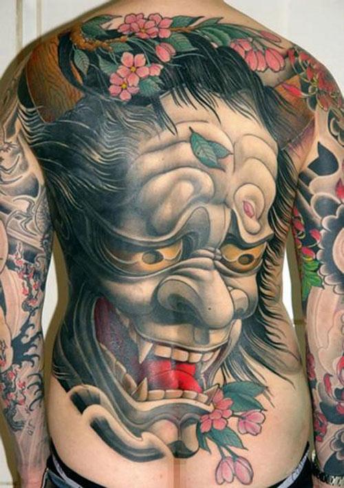 hình xăm yakuza nữ