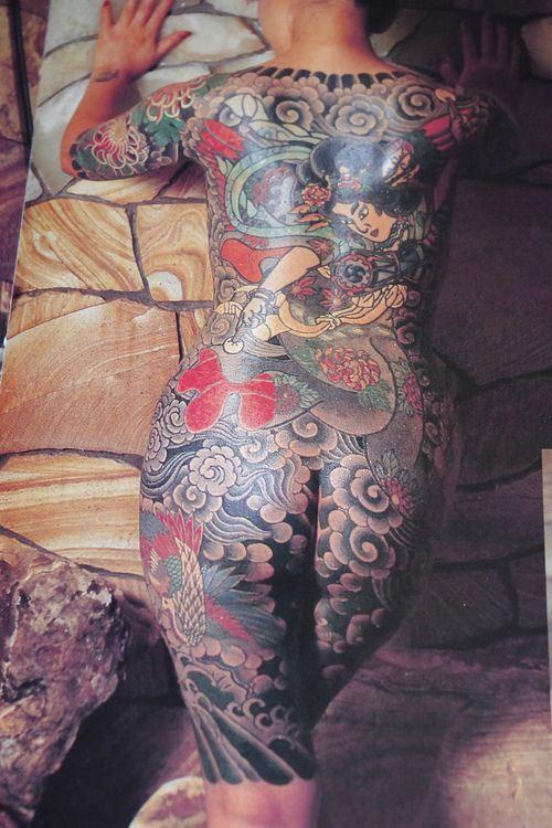 hình xăm yakuza nhật
