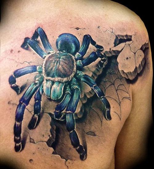 hình xăm nhện có ý nghĩa gì