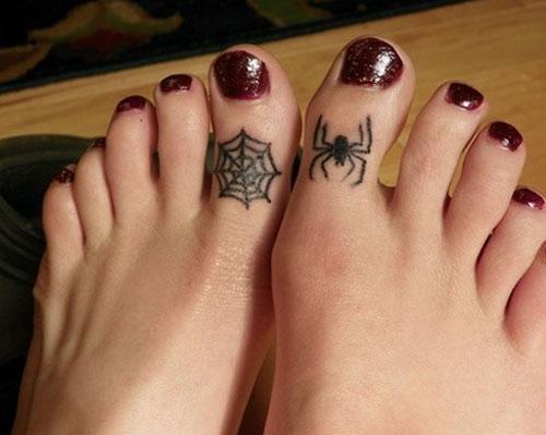hình xăm con nhện