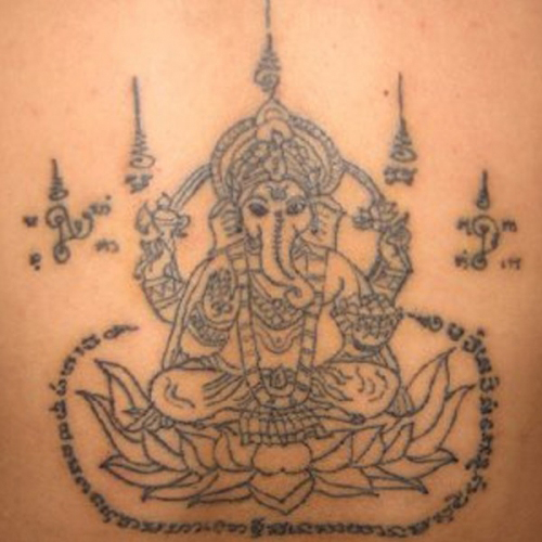 Khmer Hanuman Tattoo