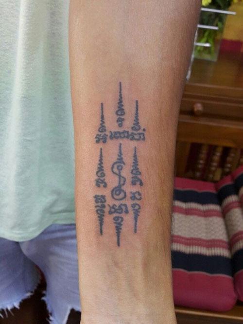 tattoo của người khmer