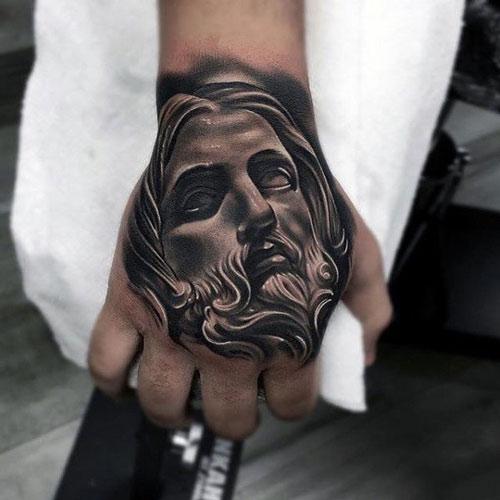 hình xăm lời chúa