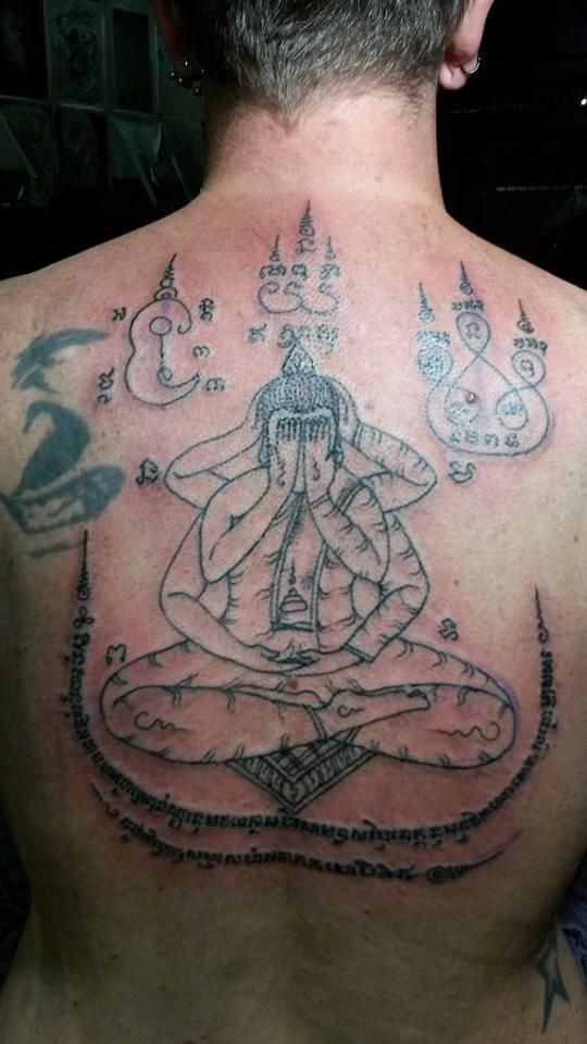 tattoo hoa văn khmer