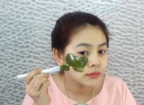 mặt nạ rau diếp cá sữa chua